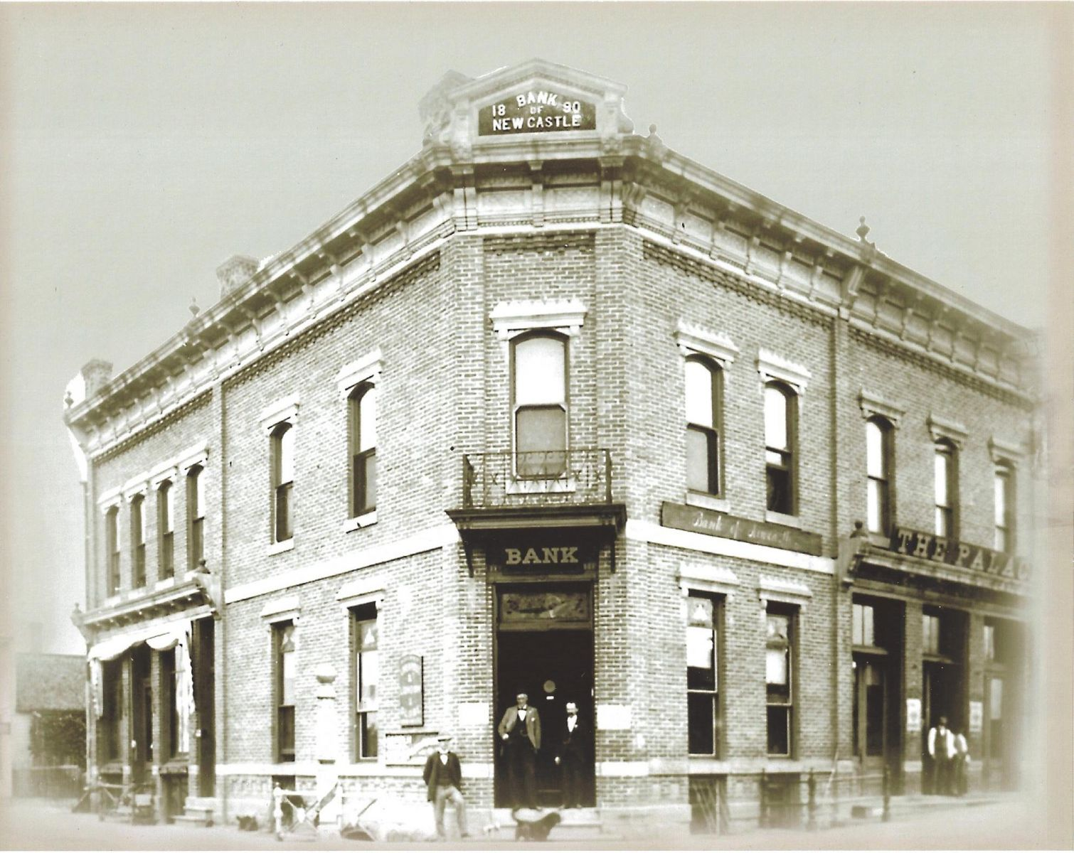 Photo of the original and first building